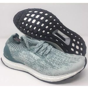 Adidas Ultra Boost Uncaged Crystal White Green